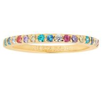 "Ring ""Corte Uno""mit bunten Zirkona SJ-R10811-XCZ(YG)"