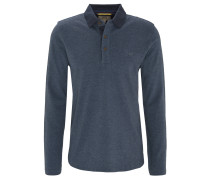 Poloshirt, Langarm, Piqué