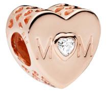 "Charm ""Mom Heart"" 781881CZ"