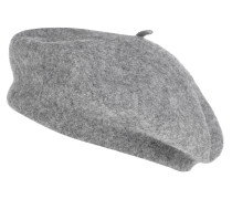 Basken-Mütze, Woll-Mix, uni