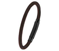 Herren-Armband braun IP BLACK, Edelstahl 2020889