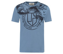 T-Shirt, Slim-Fit, Rundhalsausschnitt