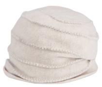 Mütze, weicher Filz, Schurwolle, Marken-Emblem