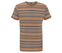 T-Shirt, Baumwolle, Streifen, Rundhalsausschnitt
