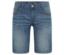 "Jeans-Shorts ""Alexa"", Baumwoll-Stretch, Used-Look"