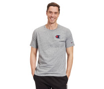T-Shirt, Comfort Fit, Baumwolle, Logo-Patches