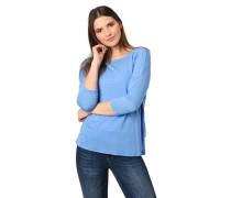 Shirt, 3/4-Arm, Feinstrick, Struktur-Muster