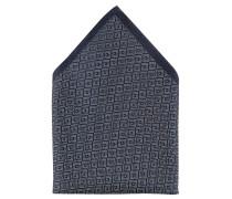 Einstecktuch, geometrisches Muster, Seide