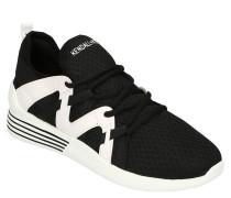 Sneaker, Mesh, Elastik-Einsätze, Zugschlaufe, zweifarbig