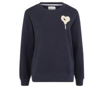 Sweatshirt, Statement-Print, Baumwolle