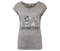 T-Shirt, Disney-Frontprint, Baumwoll-Mix