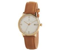 Modern Style Damenuhr, Leder-Armband