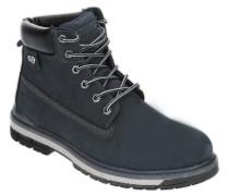 Boots, Leder, gefüttert, Schnürung, gepolsterter Schaftrand