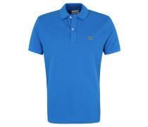 Poloshirt, Slim Fit, Baumwolle, Piqué, unifarben