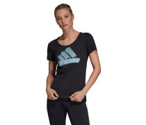 "T-Shirt ""Badge of Sport"", Baumwolle"
