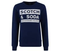 Sweatshirt, Front-Print, Rundhalsausschnitt, Baumwolle