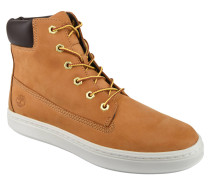 Sneaker, Leder, gepolsterter Schaft