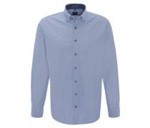 Freizeithemd, Modern Fit, Button-Down-Kragen, Paisley-Akzente