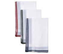 Taschentuch, 3er-Pack, gemustert