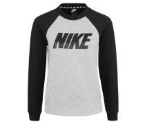 Sweatshirt, Loose Fit, Eingrifftaschen, meliert