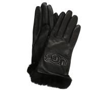 Handschuhe, Schafsleder, Fell, Wollfutter