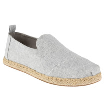 "Espadrilles ""Deconstructed Alpargata"", helle Denim-Optik"
