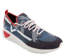 """Sneaker """"S-KBY"""", Knit-Optik, Farb-Akzente"""