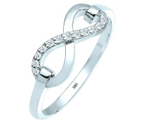 Ring Infinity Symbol Diamant (0.13 Ct.) 585 gold