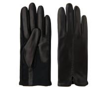 Handschuhe, Leder, Textil-Details