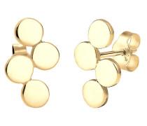 Ohrringe Kreis Geo Minimal 925 Sterling Silber