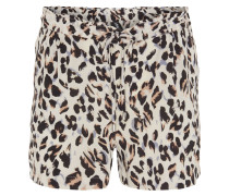 Shorts, Gummibund, Animal-Print