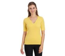 T-Shirt, uni, Split-Neck, Bio-Baumwolle