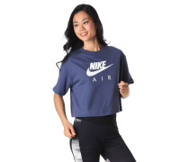 """T-Shirt """"Air"""", Cropped, Logo-Print"""