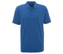 Polo-Shirt, fein gestreift, Saumschlitze, Kragen aus Baumwoll-Piqué
