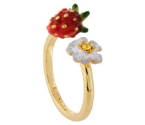 "Ring ""Flowers and Strawberries"", AHPO603/1, verstellbar"