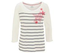 Shirt, 3/4-Arm, Print, Rundhals, Baumwolle