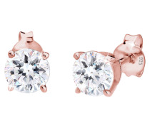 Ohrringe Funkelnd Swarovski® Kristalle 925 Sterling Silber