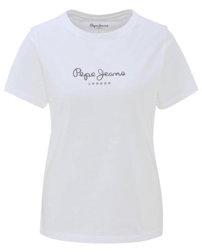 T-Shirt, Rundhals, Baumwolle, Logo-Print