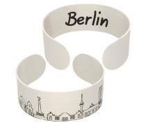 """Armspange mit Skyline """"Berlin"""", Messing vert"""