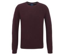 Pullover, Regular Fit, meliert, Baumwolle