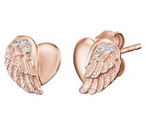 Ohrstecker Herzflügel ERE-Lilheartwing-STR