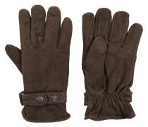 Handschuhe, Leder, Riegel, Fleece-Futter