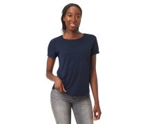 T-Shirt, Ärmelumschlag, überkreuzende Bänder am Rücken