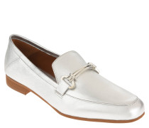 Loafer, Leder, metallic, Spange