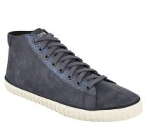 Sneaker, Metallic-Details, Reißverschluss