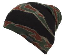 Mütze, Strick, Camouflage