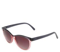Sonnenbrille, quadratisches Design, Farbverlauf