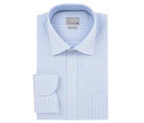 Businesshemd, gestreift, Kent-Kragen, bügelfrei