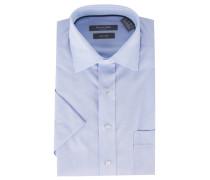 Businesshemd, Kurzarm, bügelfrei, Brusttasche, Kent-Kragen