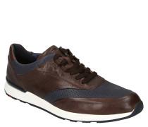 "Sneaker ""Arturo"", Schafleder, Lochmuster"